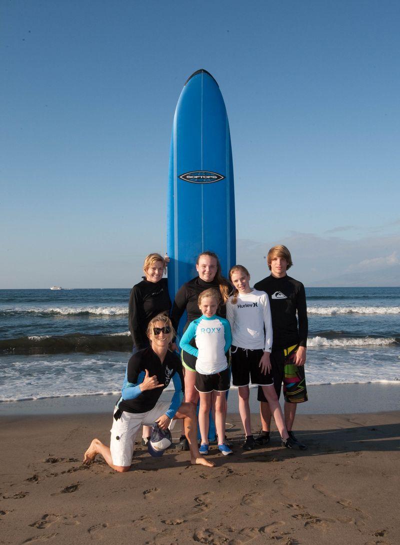 Surf lesson pic