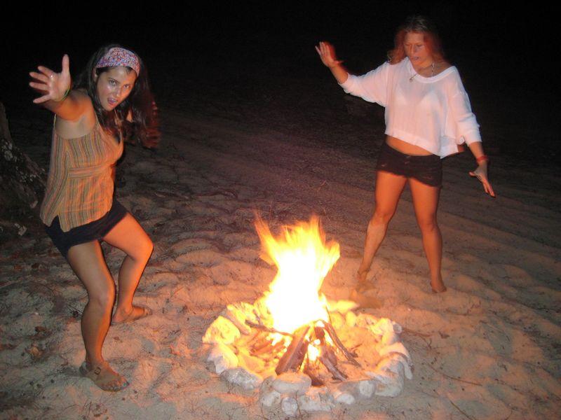 Nicole & gaby campfire