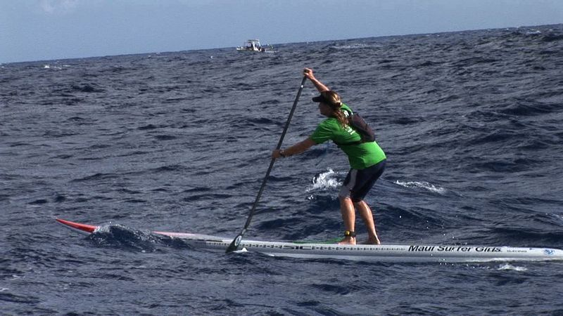 Andrea SUP race MSG sponsored