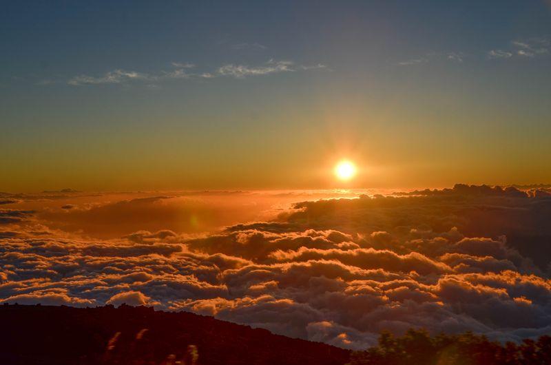 Maui Summer Camp | View from Haleakala